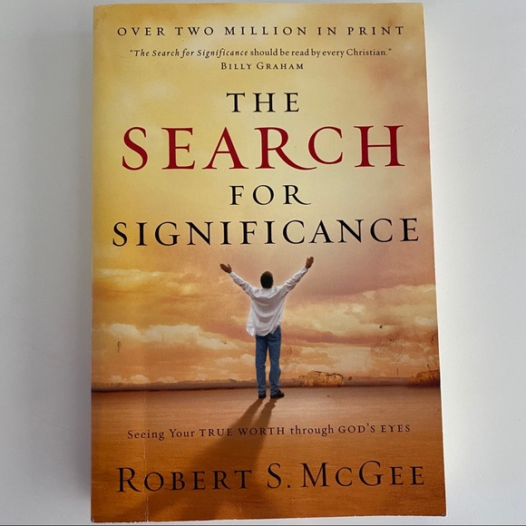 Other - The search for significance book by Robert s McGee